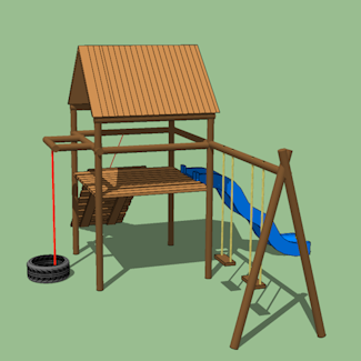 Plans For Wooden Jungle Gym